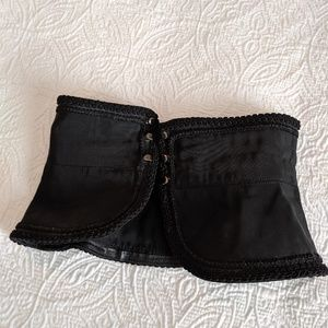 Vintage Yves Saint Laurent Corset Style Belt